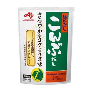 味の素 【「ほんだし® 」こんぶだし500g袋×12】風味調味料