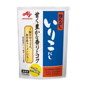 味の素 【「ほんだし® 」いりこだし500g袋×12】風味調味料(煮干し)