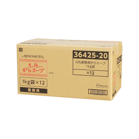 味の素 【丸鶏使用がらスープ 1kg×12】 業務用中華だし調味料