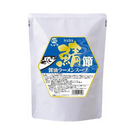 平和食品工業【鯖節醤油ラーメンスープ】1kg×10袋