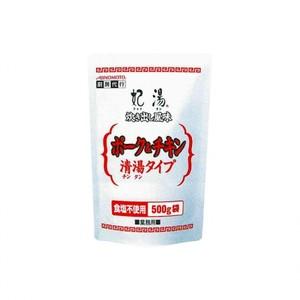 味の素【「妃湯®」炊き出し風味ポーク&チキン清湯タイプ 500g袋×12】 業務用清湯