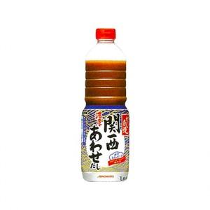 味の素【「だし自慢」濃厚関西あわせだし 1Lボトル×6】 AJINOMOTO業務用液体和風だし
