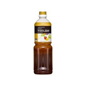 味の素【「セミセパ®」すりおろし玉ねぎドレッシング 1Lボトル×6】