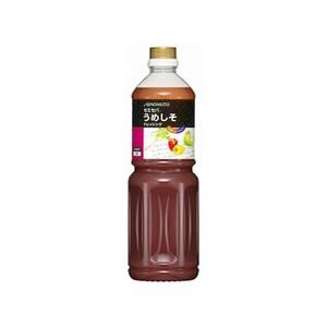 味の素【「セミセパ®」うめしそドレッシング 1Lボトル×6】