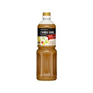 味の素【「味の素KKごま香るうま塩ドレッシング」 1Lボトル×6】
