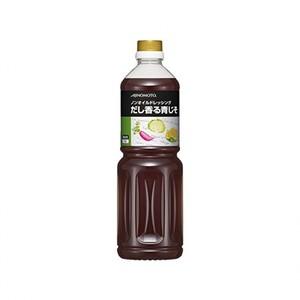 味の素【「味の素KKノンオイルドレッシングだし香る青じそ」 1Lボトル×6】