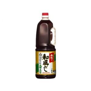 味の素【「本造り」和風だし昆布あわせ 1.8Lボトル×6】 AJINOMOTO業務用だし