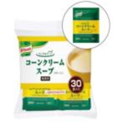 味の素【「クノール® ランチ用スープ」コーンクリームスープ 17.5g袋×30×20】