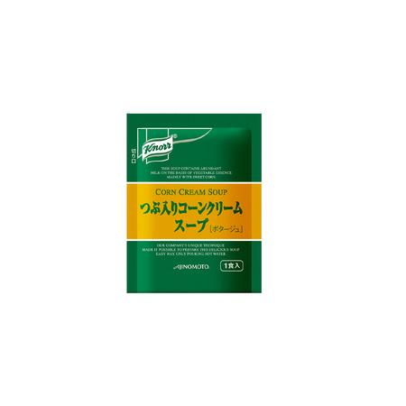 味の素【「クノール® ランチ用スープ」つぶ入りコーンクリームスープ 15.9g袋×30×20】