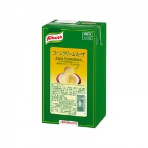 味の素【「クノール® アセプティックスープ」コーンクリームスープ 1kgパック×6】