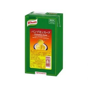 味の素【「クノール® アセプティックスープ」パンプキンスープ 1kgパック×6】