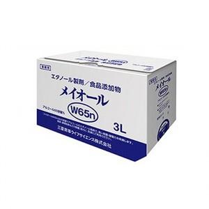 サニテーション【アルコール製剤「メイオールW65n」3L×4】