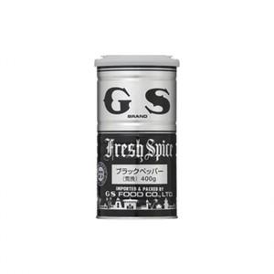 GSフード【ブラックペパー(荒挽)    400g×12】 ジーエスフード業務用調味料