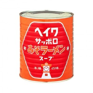平和食品工業【ヘイワサッポロみそラーメンスープ 3.3kg缶×6】