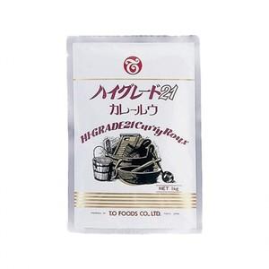テーオー食品 【ハイグレード21 カレールウ 1kg×10×3】業務用カレー
