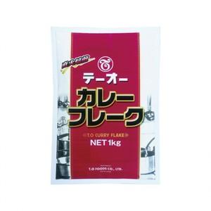 テーオー食品 【テーオー カレーフレーク  1kg×20×3】業務用カレー
