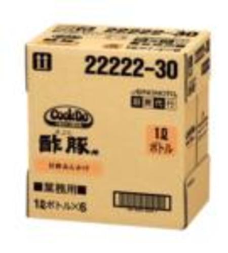 味の素 【「Cook Do」酢豚用1Lボトル×6 】 AJINOMOTO業務用中華合わせ調味料