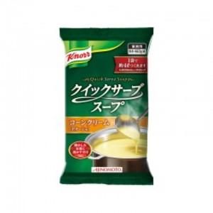 【「クノール® クイックサーブスープ」コーンクリーム 460g袋×20】 AJINOMOTO