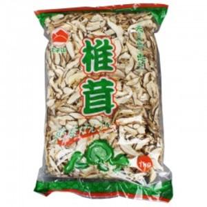 中国産【椎茸スライス 1kg×10】 業務用椎茸スライス