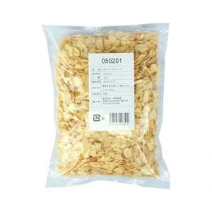 中国産【ガーリックフレーク 1kg×20】 業務用乾燥ニンニクスライス