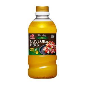 味の素【「ドレッシング地中海オリーブオイル&ハーブ」500mLボトル×6×2】