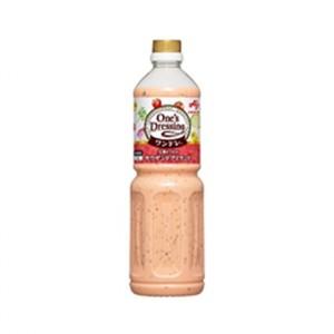 味の素 【「One's Dressing」完熟トマトのサウザンドアイランドボトル×6】ドレッシング