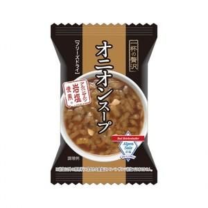 一杯の贅沢【オニオンスープ アルペンザルツ岩塩使用 8食×14化粧箱】