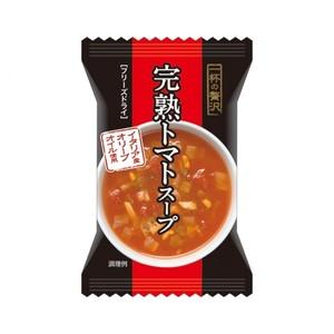 一杯の贅沢【完熟トマトスープ イタリア産オリーブオイル使用 8食×14化粧箱】