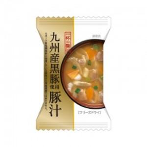 一杯の贅沢【九州産黒豚使用豚汁 10食×10化粧箱】こだわりの一杯