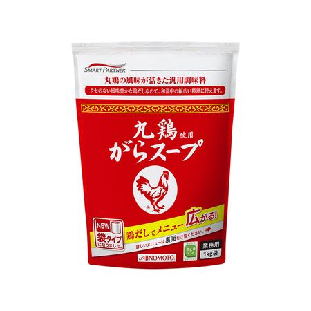 味の素 【丸鶏使用がらスープ 1kg】 業務用中華だし調味料