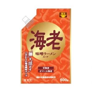 【麺活 味噌ラーメンスープ海老 500g×10】 業務用味噌ラーメンスープ